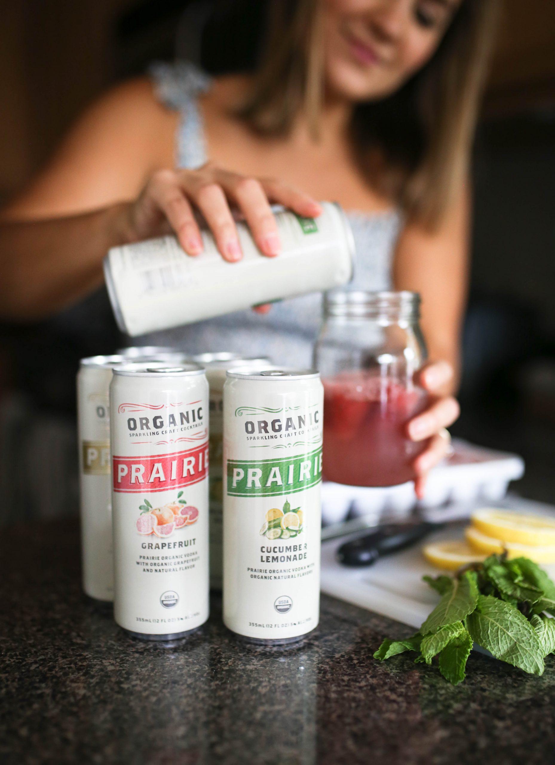 Prairie Organic Sparking Craft Cocktails!