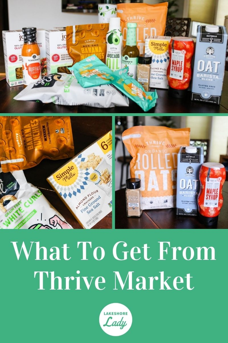 what to get from thrive market