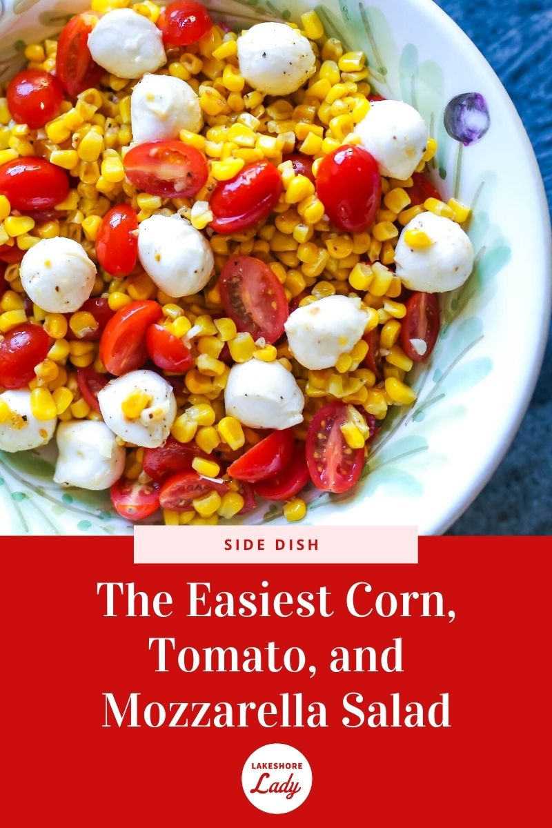 Tomato Corn and Mozzarella Salad recipe