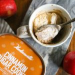 Apple Mug Cake with Hudsonville Ice Cream
