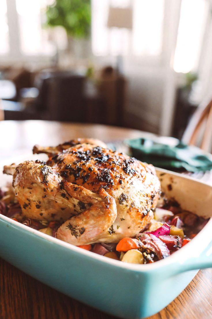 Garlic & Herb Roast Chicken and Vegetables