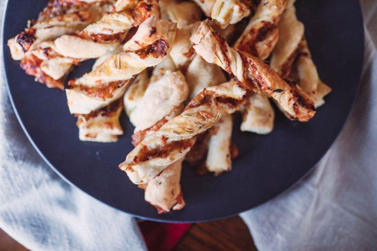 Caramelized Onion Twists