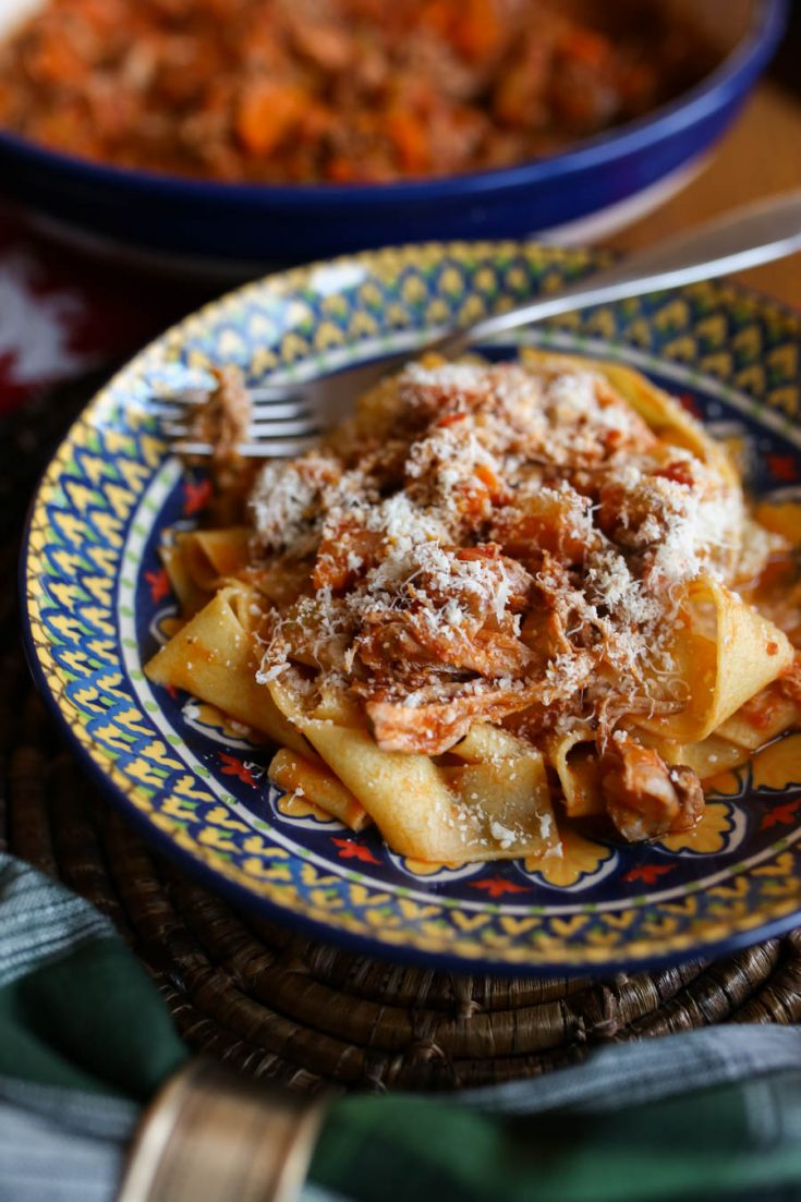 Slow Cooker Pork Ragu Recipe