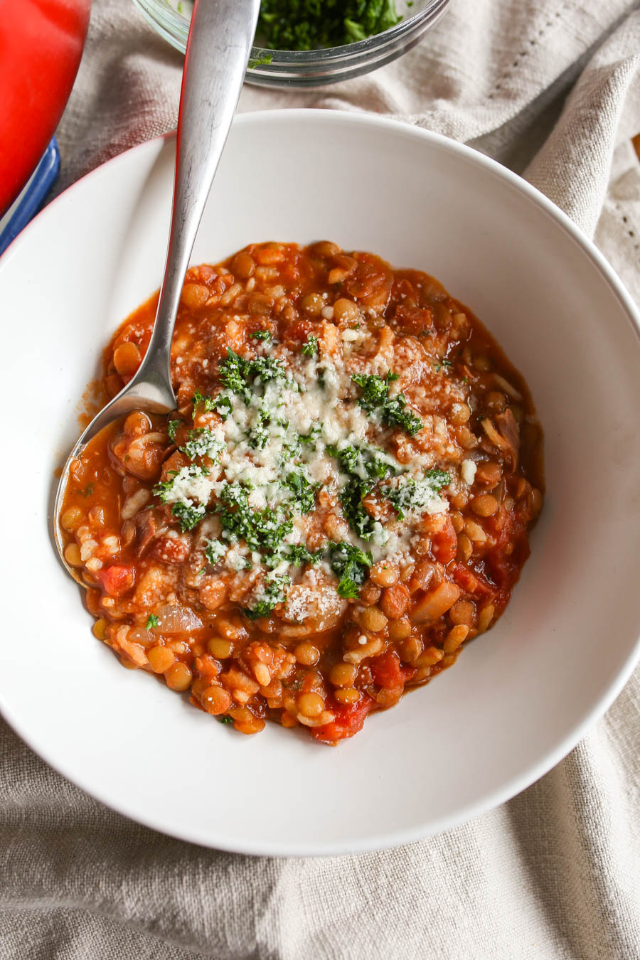 Lentil and Rice Soup Recipe