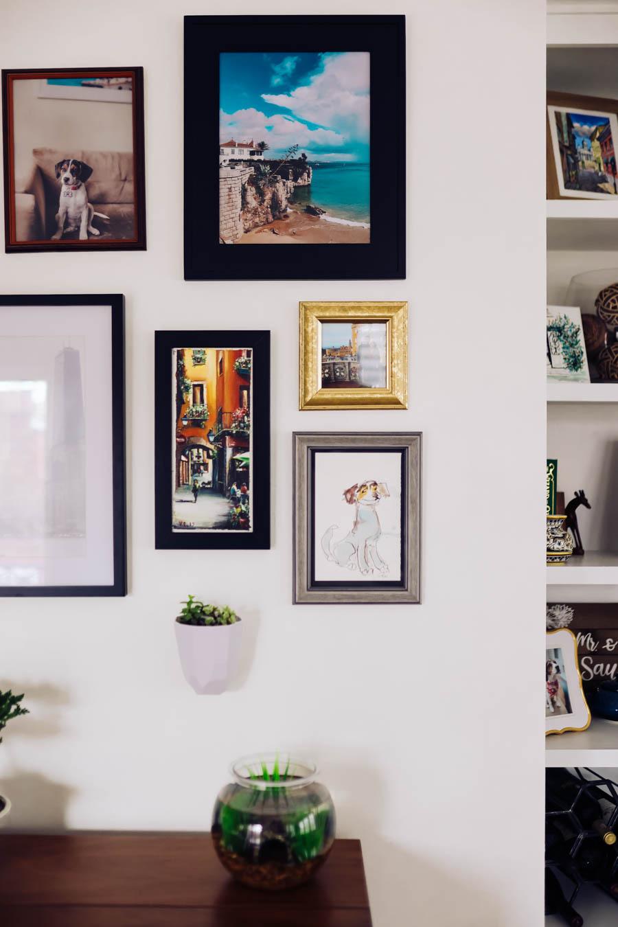 custom frames and artwork