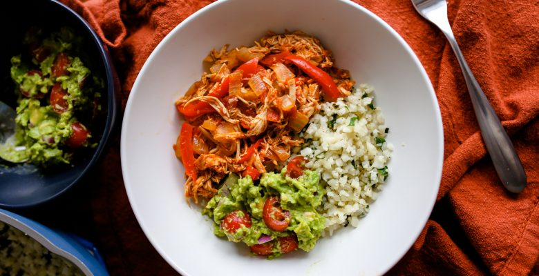 Whole30 Taco Bowl with Chicken