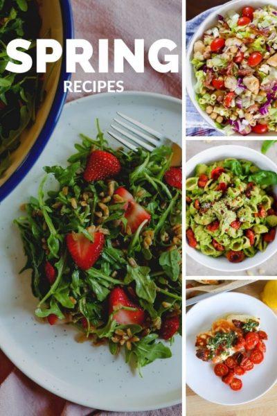 10 spring recipes