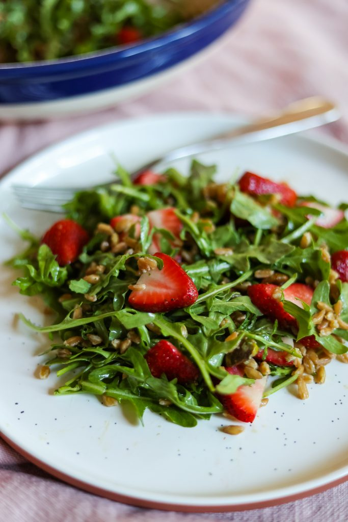 what to make with spring strawberries