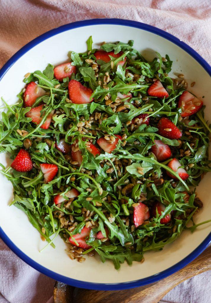 Arugula and Strawberry Salad Recipe