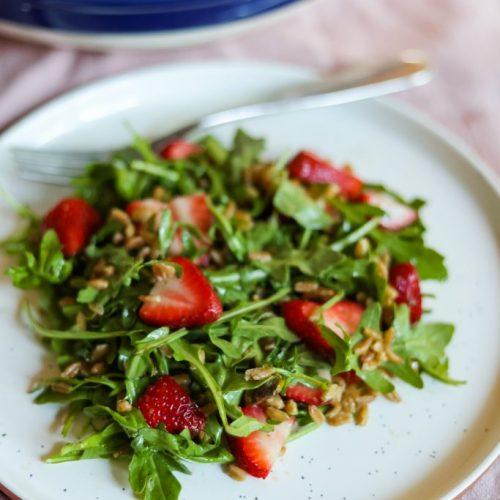 Arugula and Strawberry Salad-6