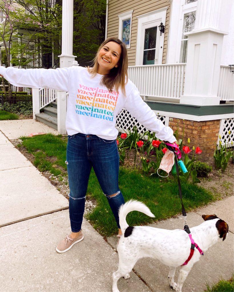 vaccinated sweatshirt | Sunday Spotlights 44