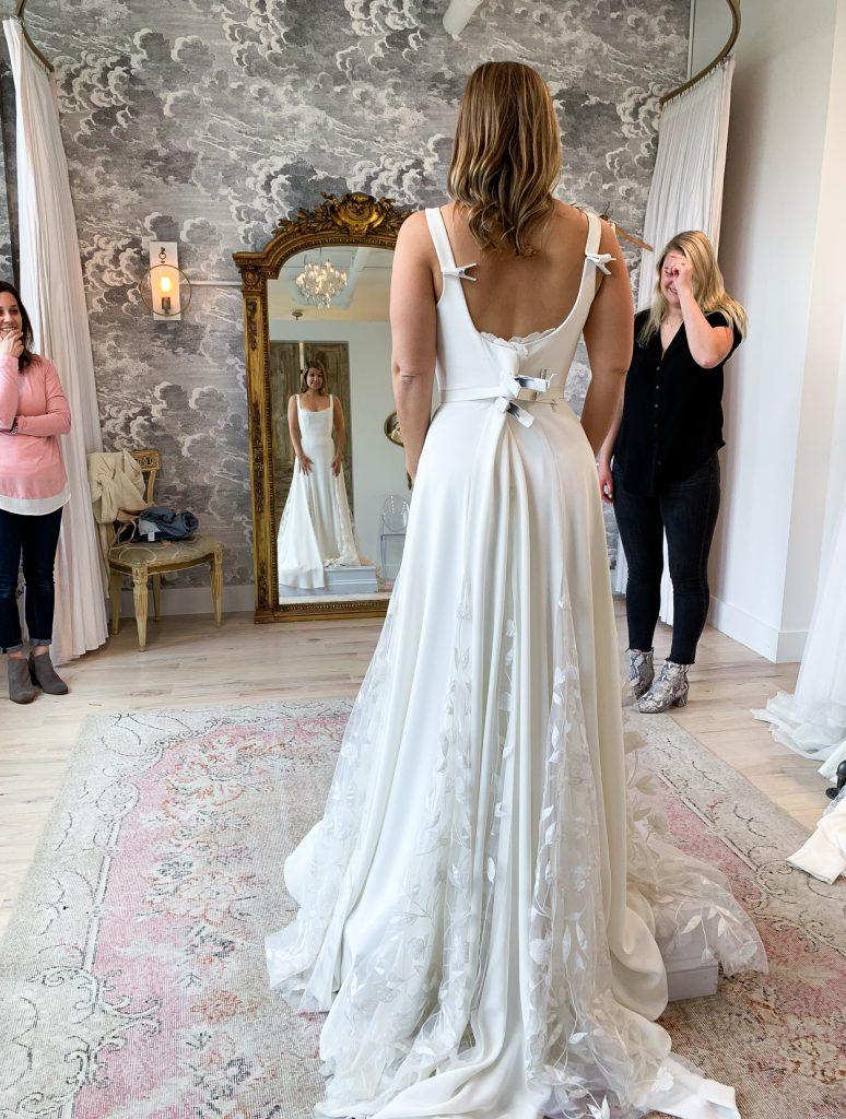 back details of Alexandrea Grecco Sienna Dress