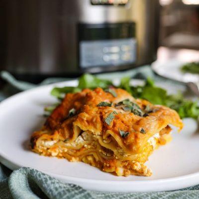 crockpot pumpkin lasagna-13